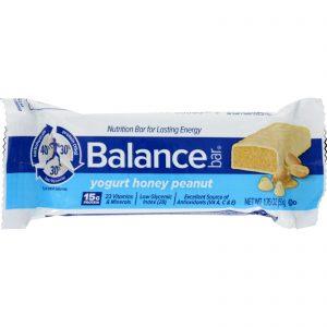 Balance Bar – Yogurt Honey Peanut – 1.76 oz – Case of 6