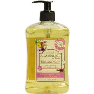 A La Maison – French Liquid Soap – Thousand Flowers ( 2 – 16.9 FZ)